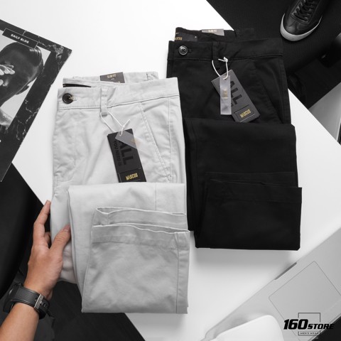 Quần Kaki MASCUS Pants Slim fit