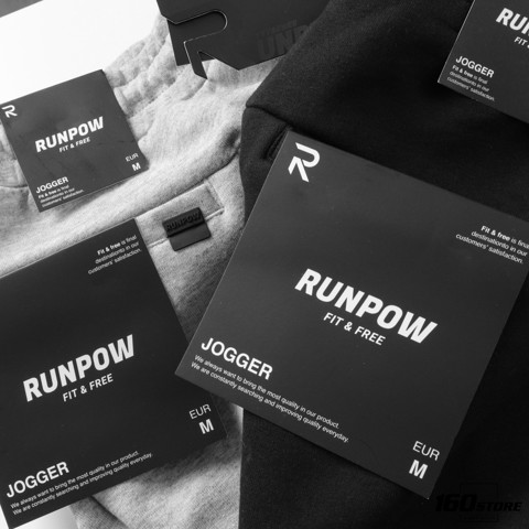 Quần jogger RUNPOW Tech Zipper