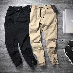 S.S0DA Chino Jogger with Zip