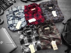 Ben Steven Flannel shirts with Back Print