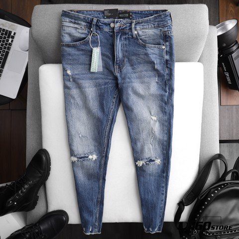 Quần jeans BOUTON Ripeed Skinny