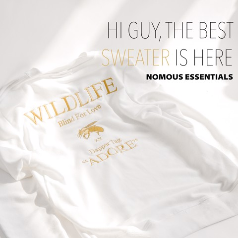 Áo nỉ (sweatshirt) NOMOUS ESSENTIALS x Wildlife
