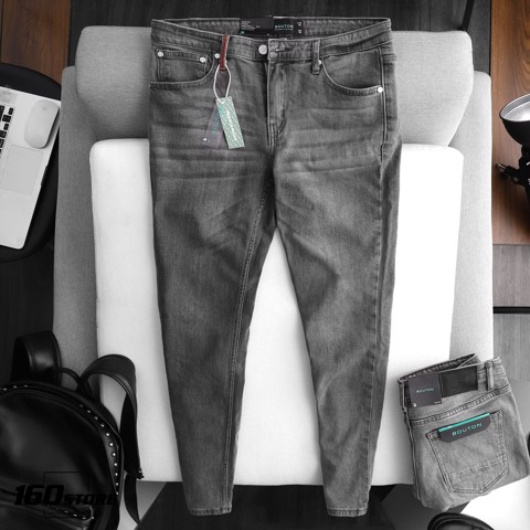 Quần jeans BOUTON Gray wash Skinny