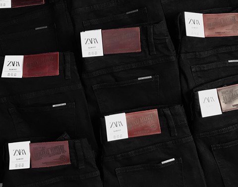 ZRA Black Slim Fit Jeans