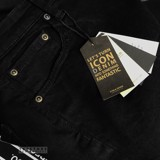 Icon & Denim Ripped Jeans with Zip