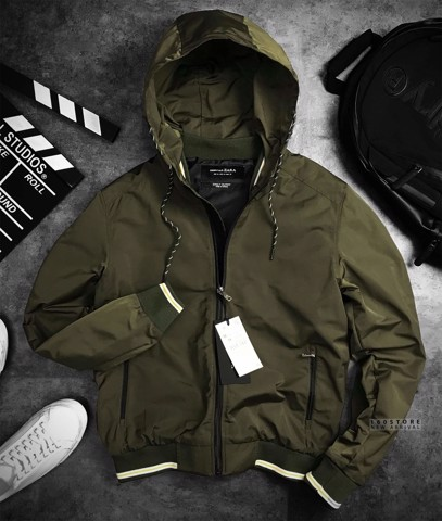 ZRA Wind Hooded Jackets