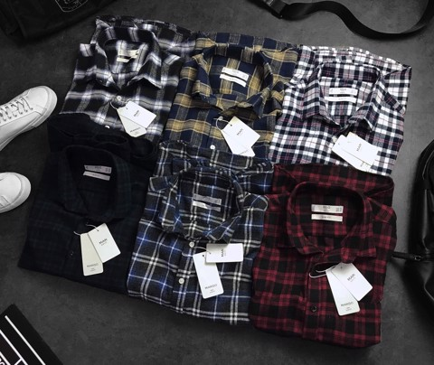 M.N.G Checked Flannel Shirts