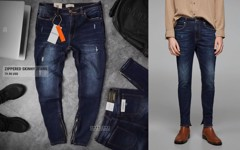 ZRA Zippered Skinny Jeans