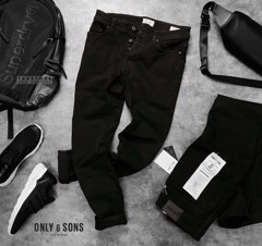 ONLY & S0NS Slim Fit Jeans