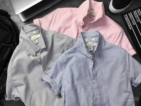 H.M Stripes Oxford Shirts