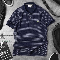 LCST Printed Mini Pique' Polos