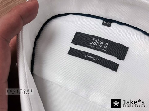 JAKE*S Slim Fit Casual Shirts