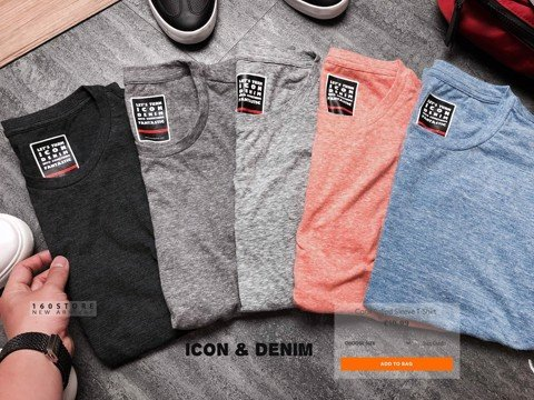 Icon & Denim T-Shirts