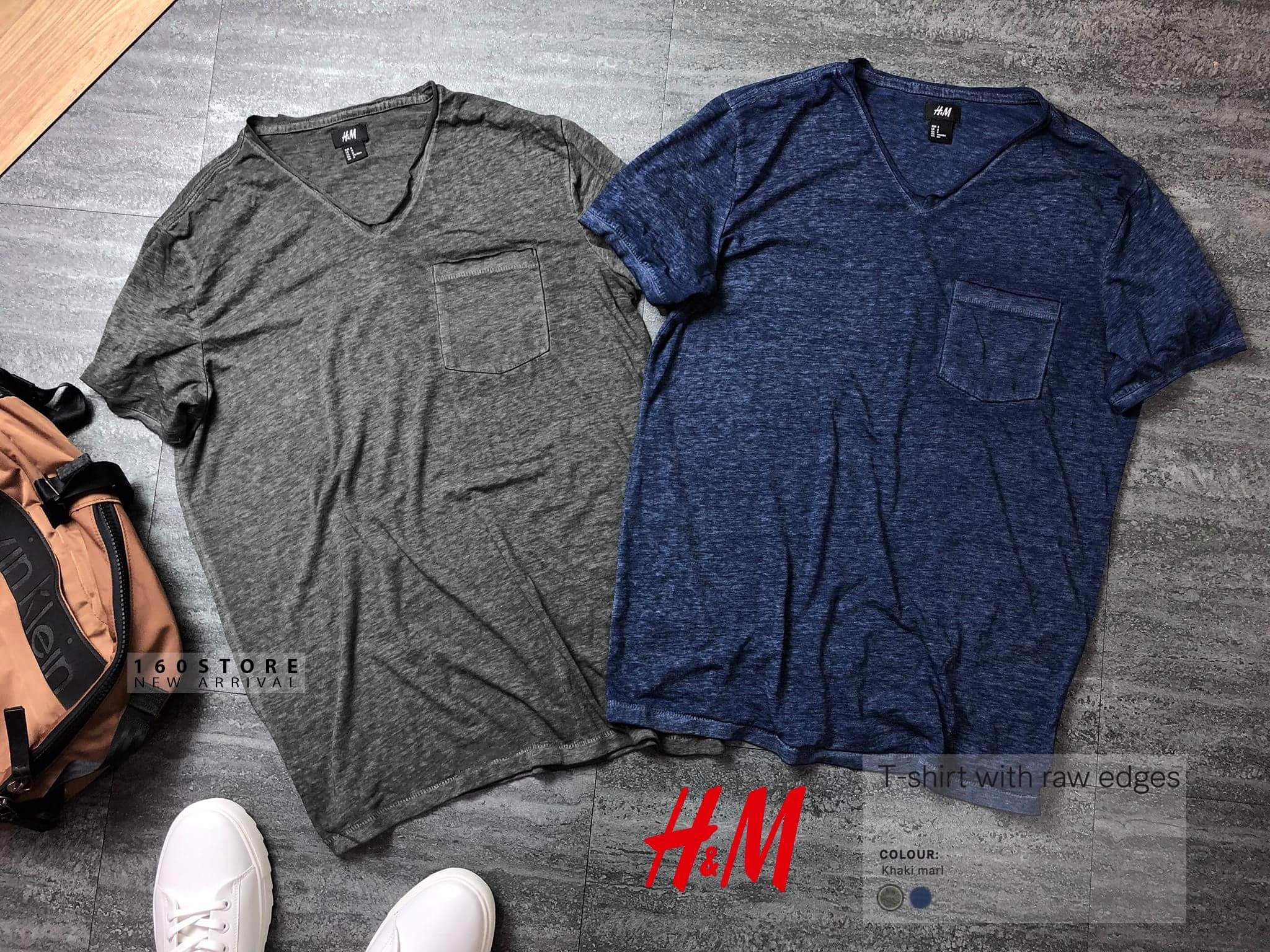 H.M T-Shirts with raw edge