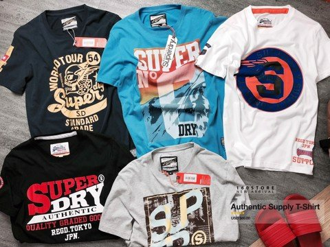 S.DRY Authentic Supply T-Shirts