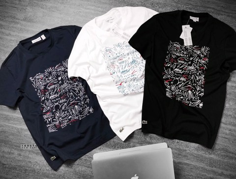 LCST Crew Neck Print T-Shirts