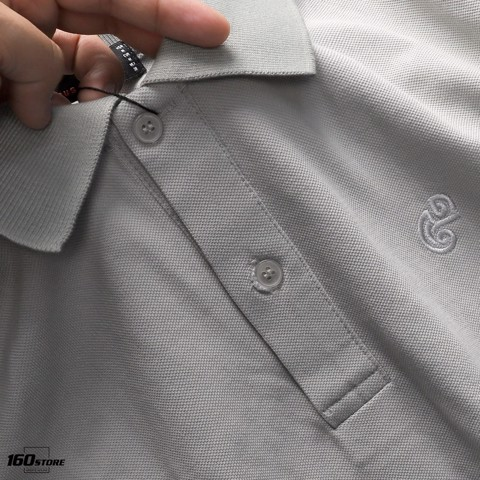 Áo polo NOMOUS ESSENTIALS w Gecko embroidery