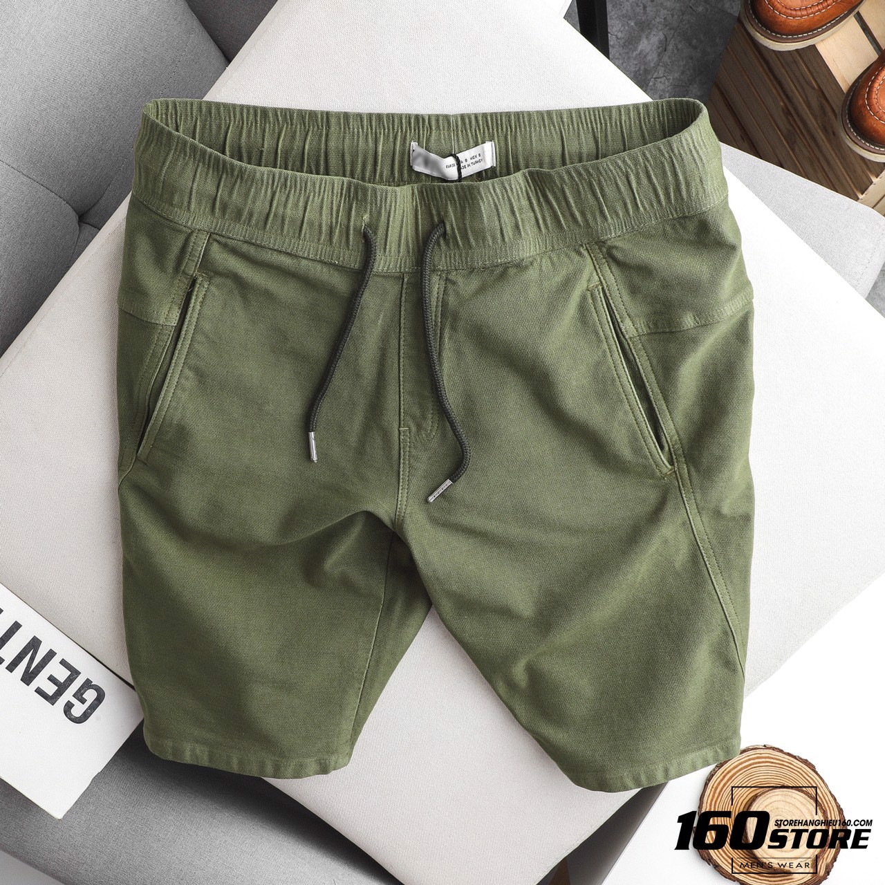 Quần short ZRA soft denim