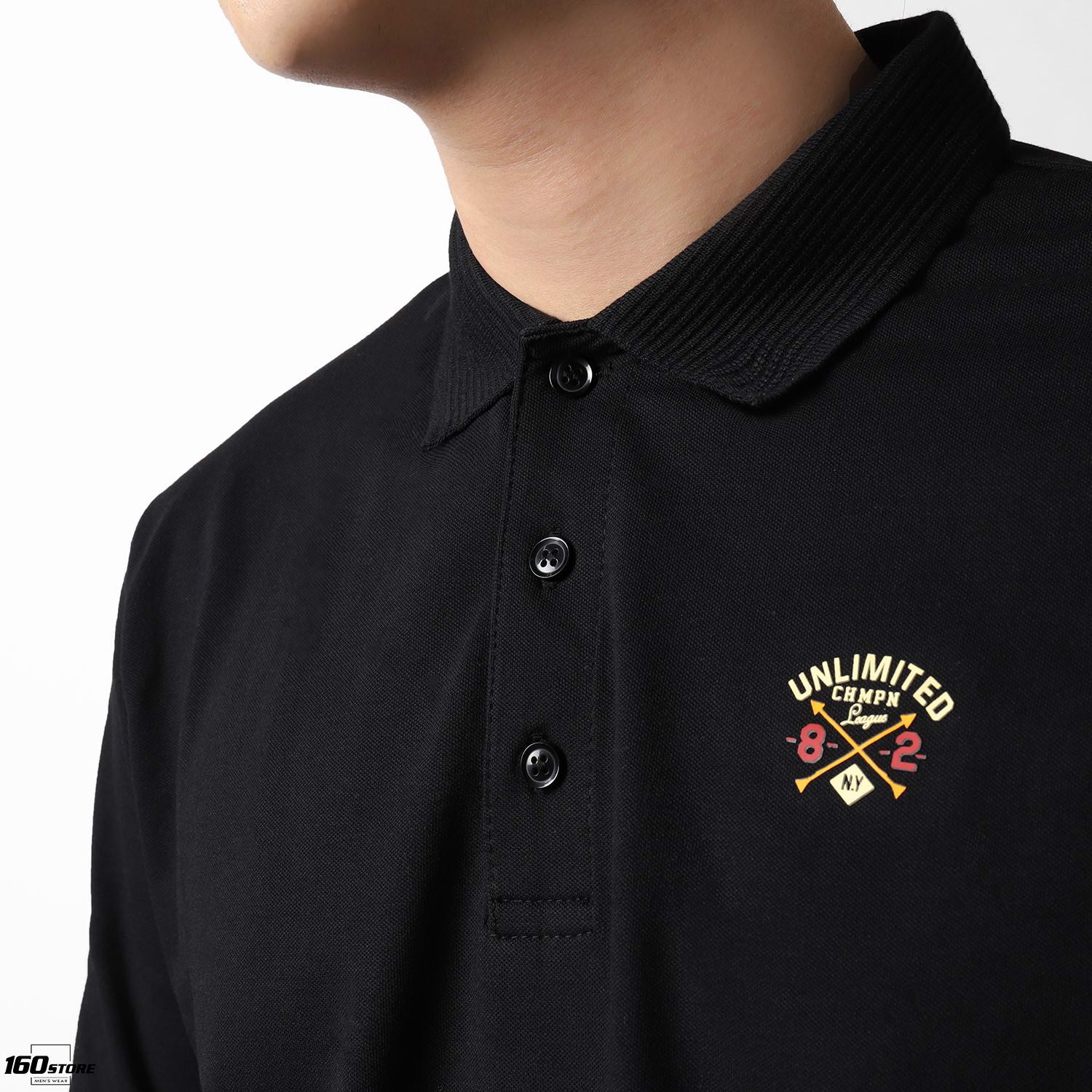 Áo Polo NOMOUS ESSENTIALS college athletics printed