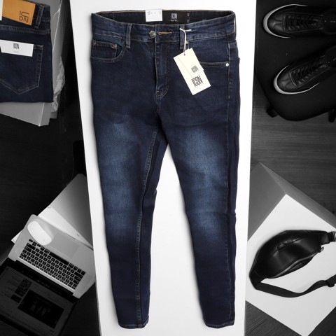 Quần jeans ICON DENIM Dark Blue skinny