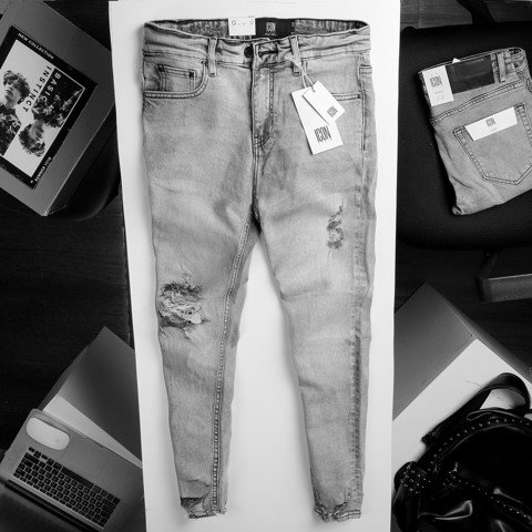 Quần jeans ICON DENIM skinny ripped