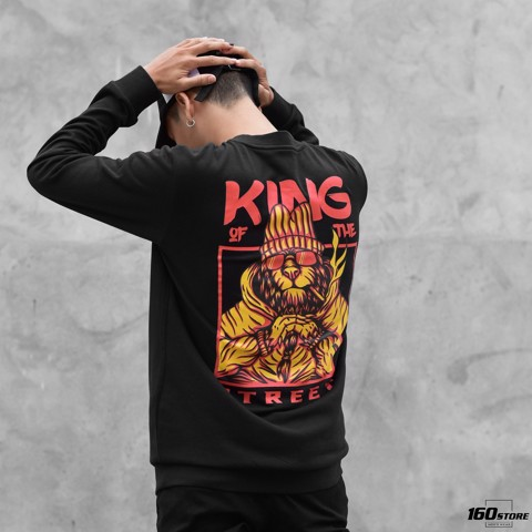 Áo nỉ (Sweatshirt) ICON DENIM King of the street