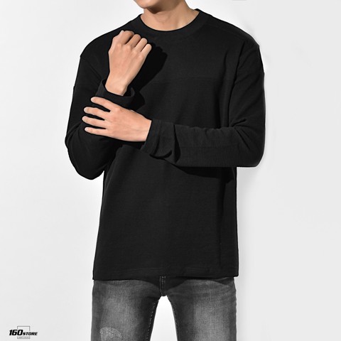 Áo thun BOUTON Long sleeve textured