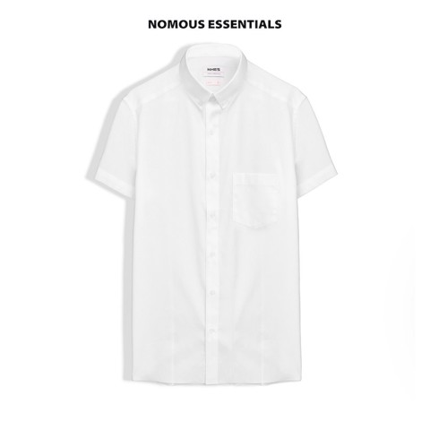 Áo sơmi NOMOUS ESSENTIALS white slim (TN)