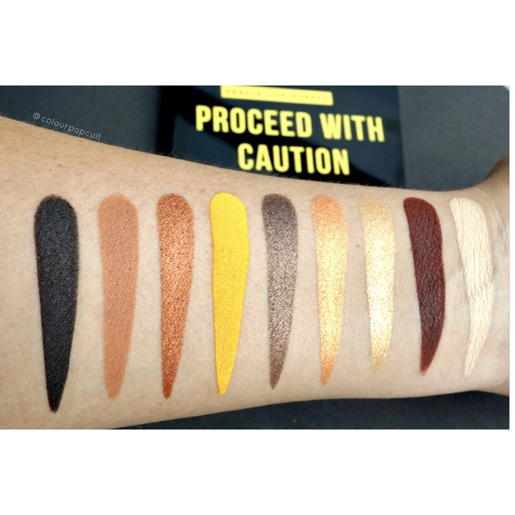 Bảng màu mắt Colourpop Proceed with Caution