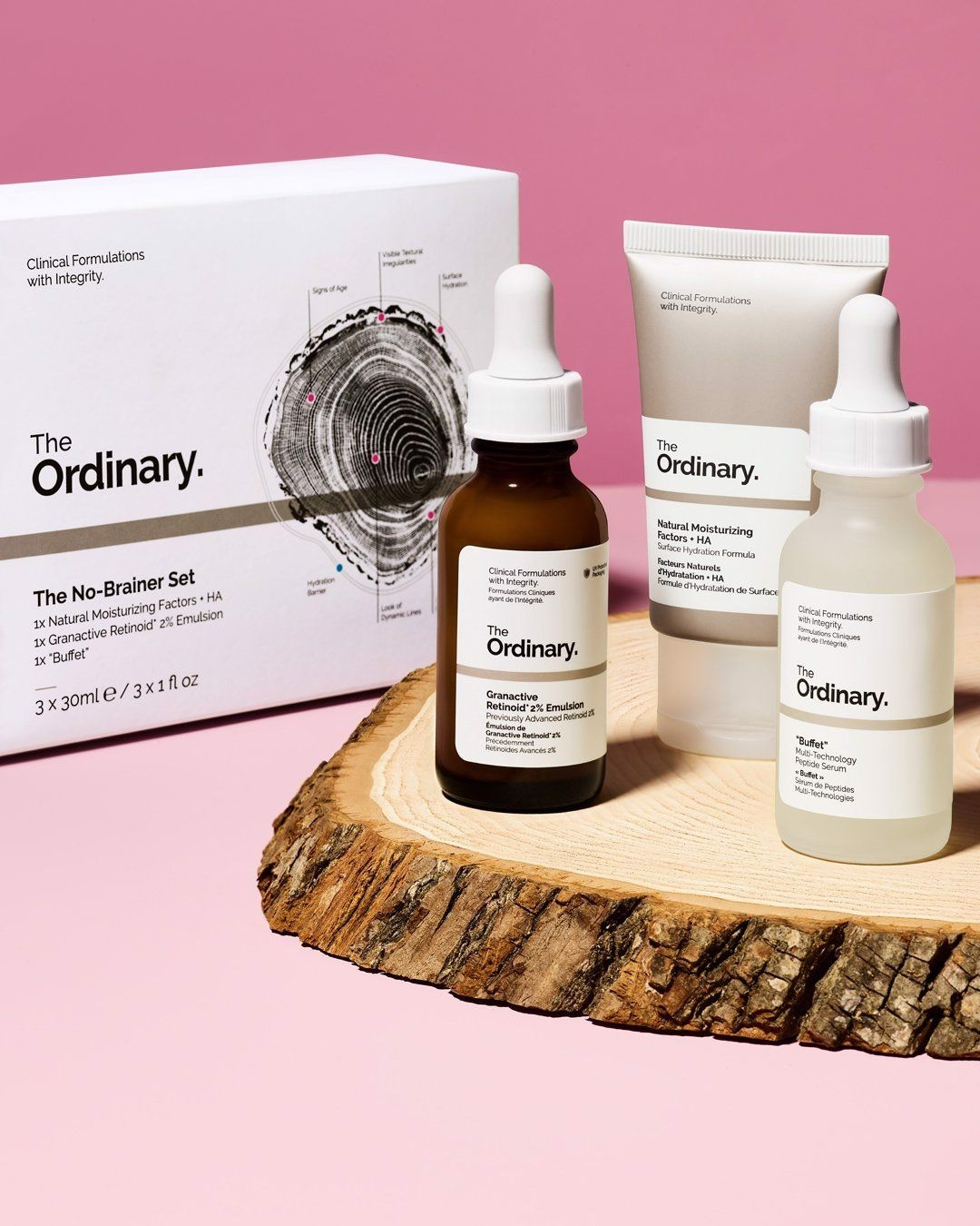 Bộ chăm sóc da The Ordinary The No-Brainer