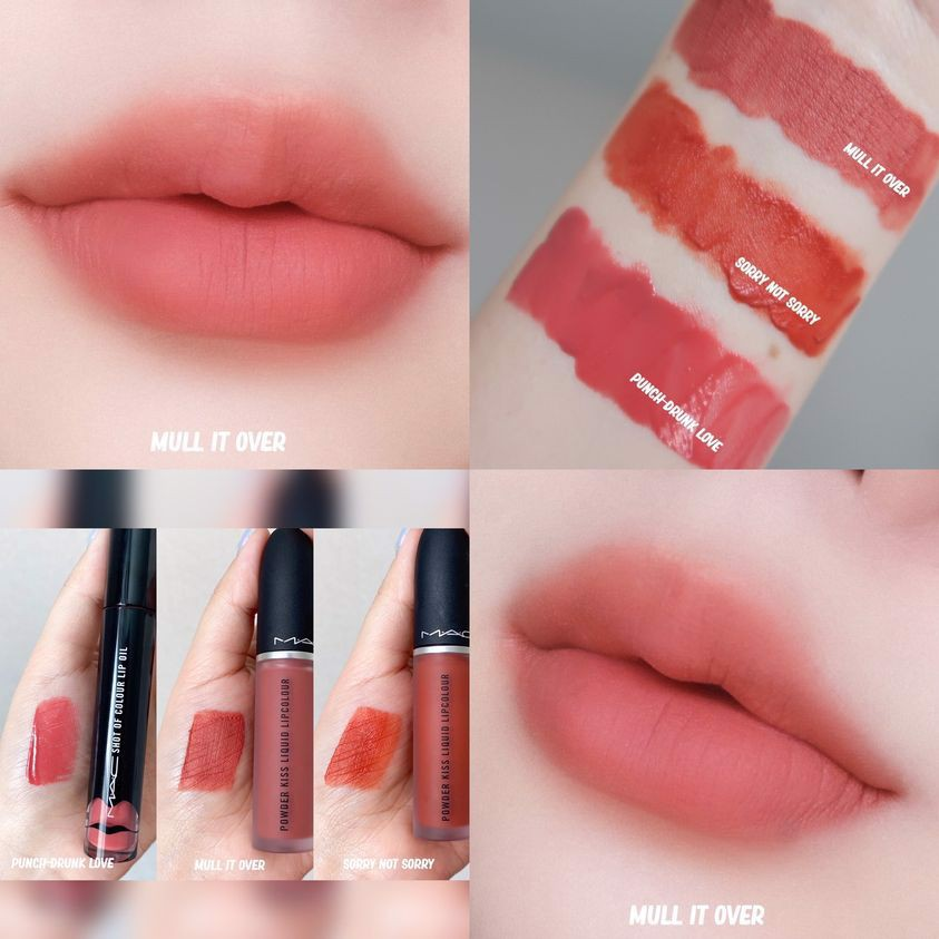 Son kem lì MAC Liquid Lip Powder Kiss cực mướt môi
