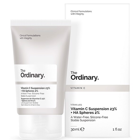 Kem dưỡng The Ordinary Vitamin C Suspension 23% + HA Spheres 2% làm sáng da
