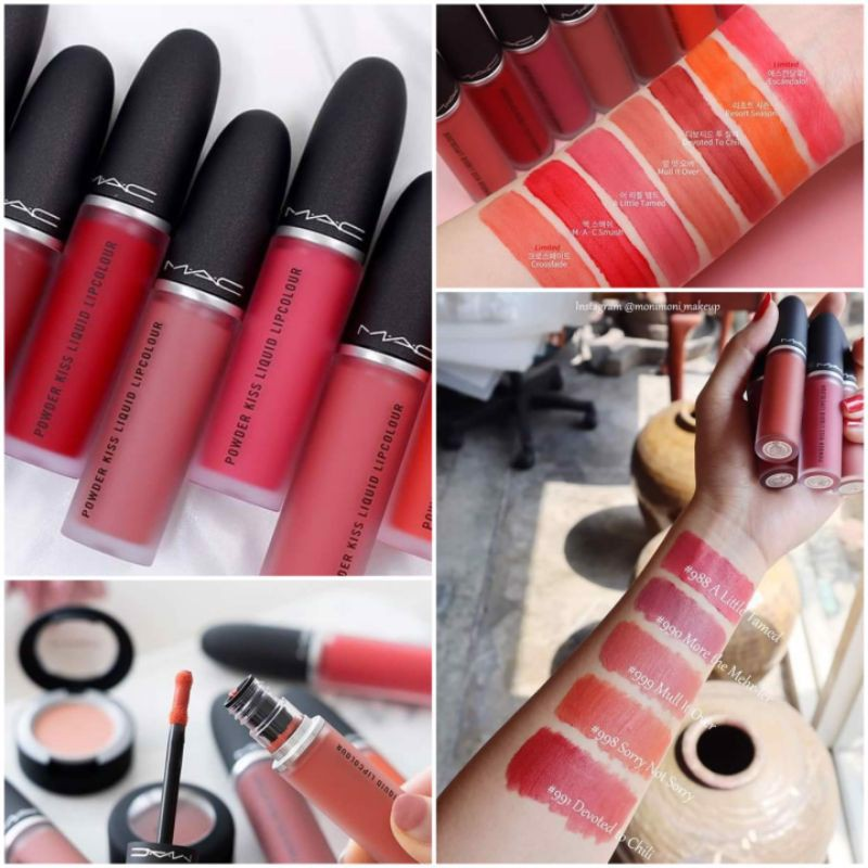 Son kem lì MAC Liquid Lip Powder Kiss cực mướt môi [BILL CANADA]