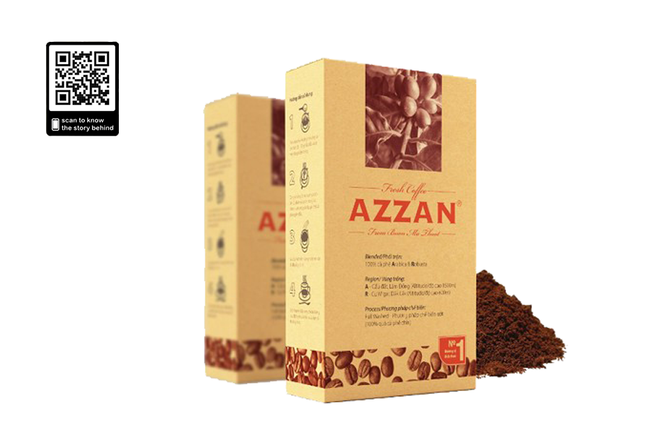 Cà Phê Azzan Single Origin - 250g - AZZAN