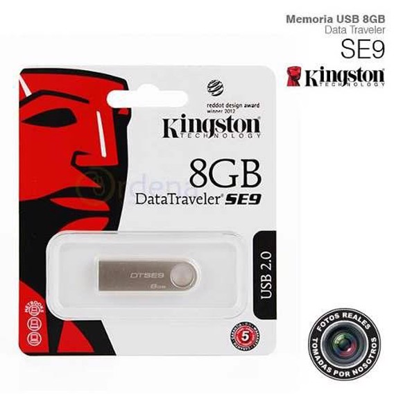 USB Kingston SE9 8Gb Nano