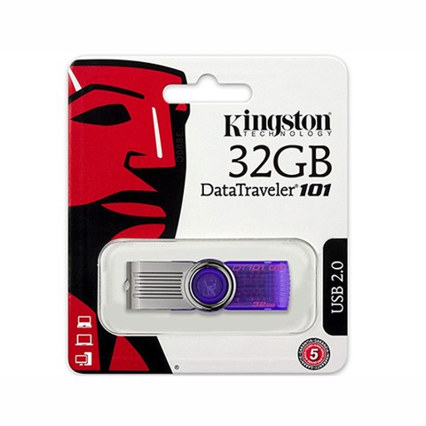 USB Kingston 32Gb (Tím)