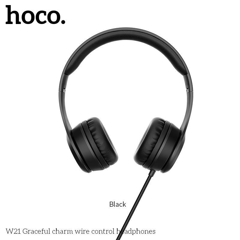 Tai nghe chụp tai Hoco W21 - Hàng Chính Hãng