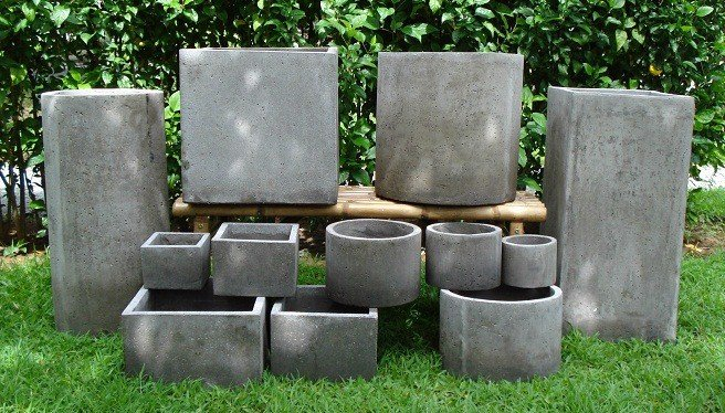 Rectangle Pots