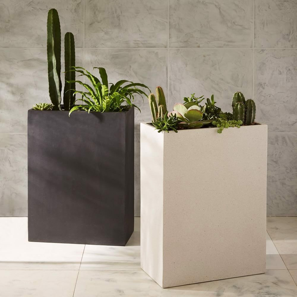 Double Rectangle Pots