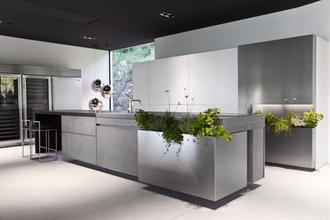 Concrete Kitchen Counter