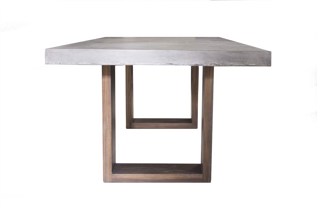 Rectangle Table Wood Legs