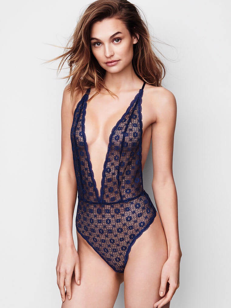 Very Sexy Medallion Lace Teddy