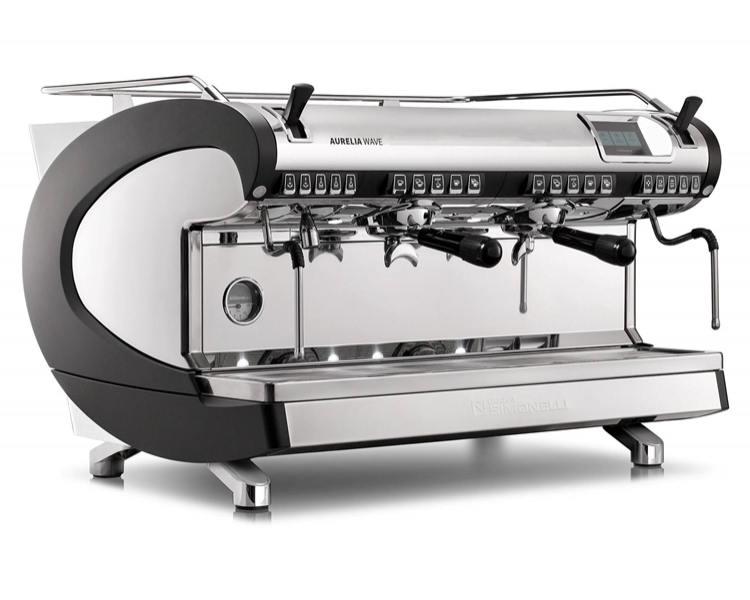 may pha ca phe nuova simonelli aurelia wave 2 group volumetric