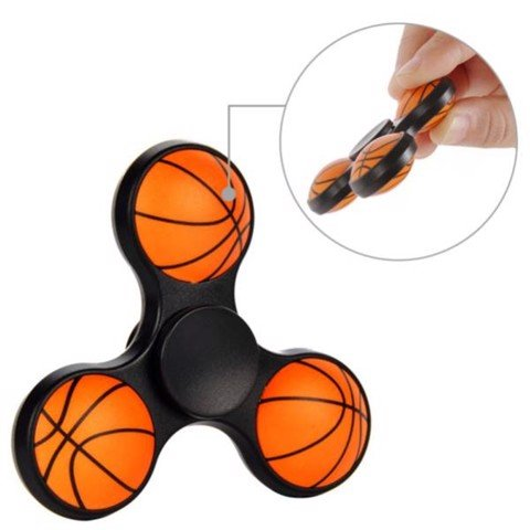 Basketball Fidget Spinner Hands Foucs Toy