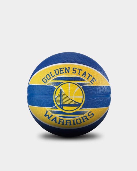 Bóng rổ Spalding Golden State Warriors Outdoor Size 7