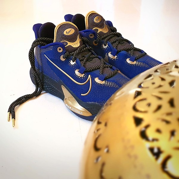 Nike Air Zoom BB NXT Blue Gold