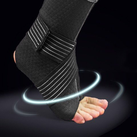 Basketball black Performance Advanced Ankle Support