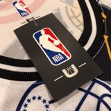 Association NBA Team White Mesh Jersey Tank Top by UNK NBA