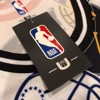 Association NBA Team White Mesh Jersey Tank Top by UNK NBA (Real/New)