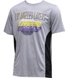 LeBron James #23 Los Angeles Lakers Grey Quick Dry Tee By UNK NBA